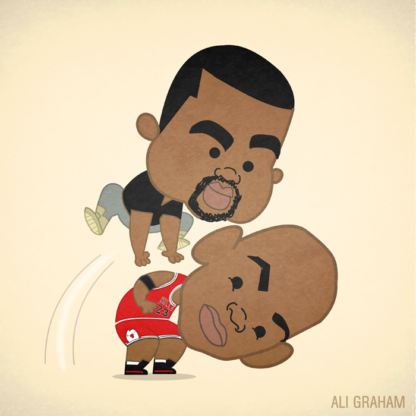 "Lil Ye - ""Just jumped over Jumpman"""